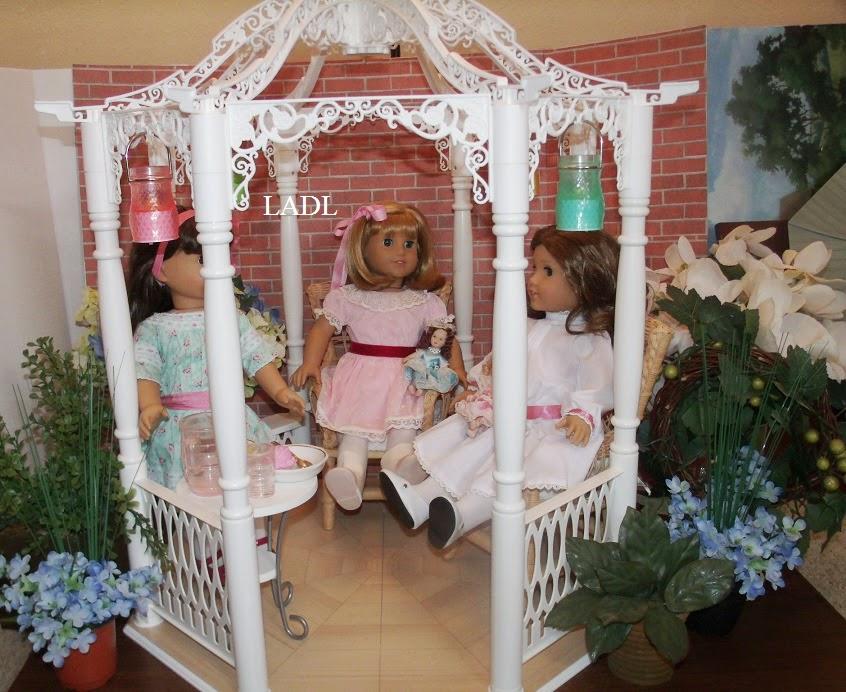 Living A Doll's Life : *Review* BeForever Samantha's Gazebo