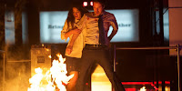 Adria Arjona and John Gallagher Jr. in The Belko Experiment (5)