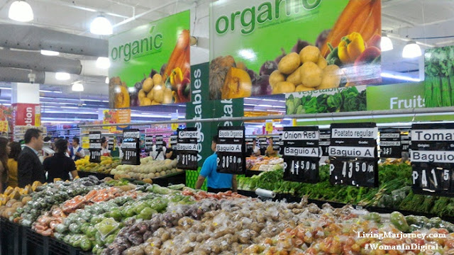 Organic Vegetables at Shopwise