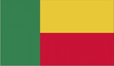 Gambar Bendera Negara Benin