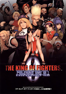 The king of Fighters 2000+arcade+game+portable+retro+fighter+art+flyer