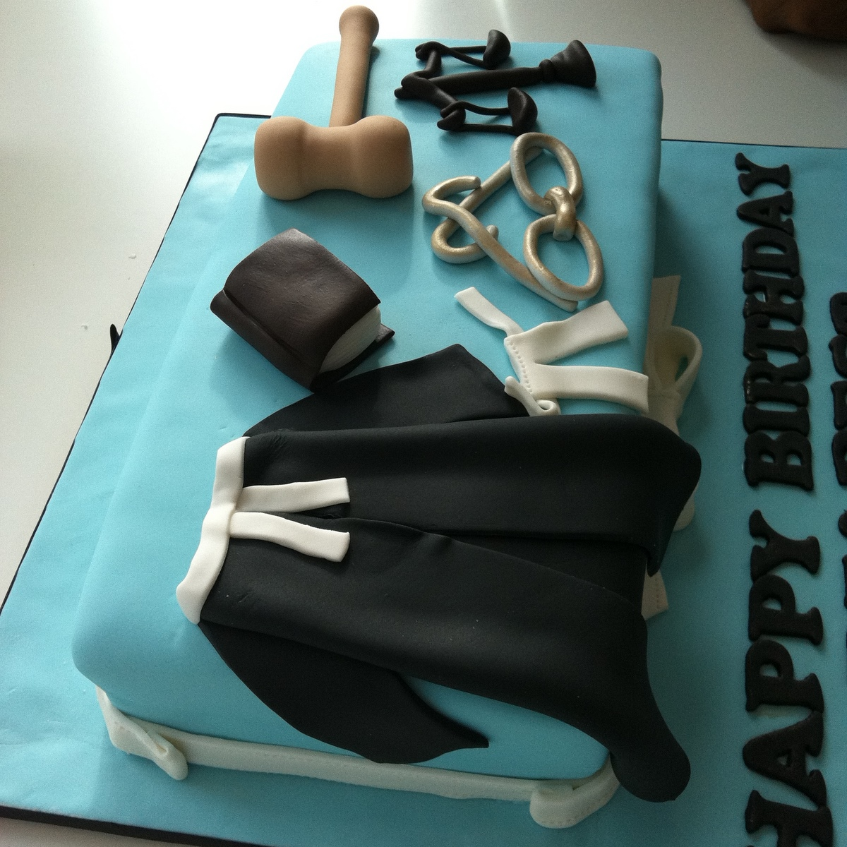 Another Profile Cake For Redza Last Year