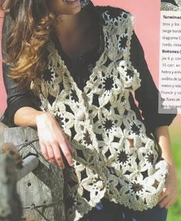 http://patronesparacrochet.blogspot.com.es/2014/01/chaleco-tricot-crochet-flores-estrellas-patron.html