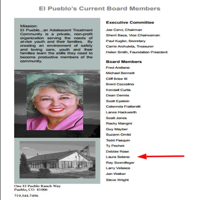 Former Board Member Of El Pueblo Director Of Colorado Lottery On