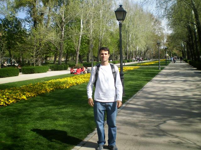 Parque de el Retiro Madri Espanha