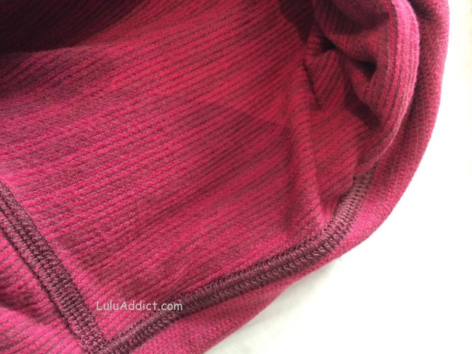 lululemon pique bumble berry wup