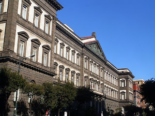 The main building at the University of Naples, where D'Aquino set up a Dominican house of studies
