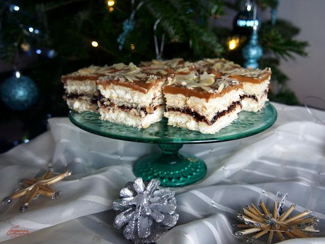 błyskawiczne ciasto świąteczne