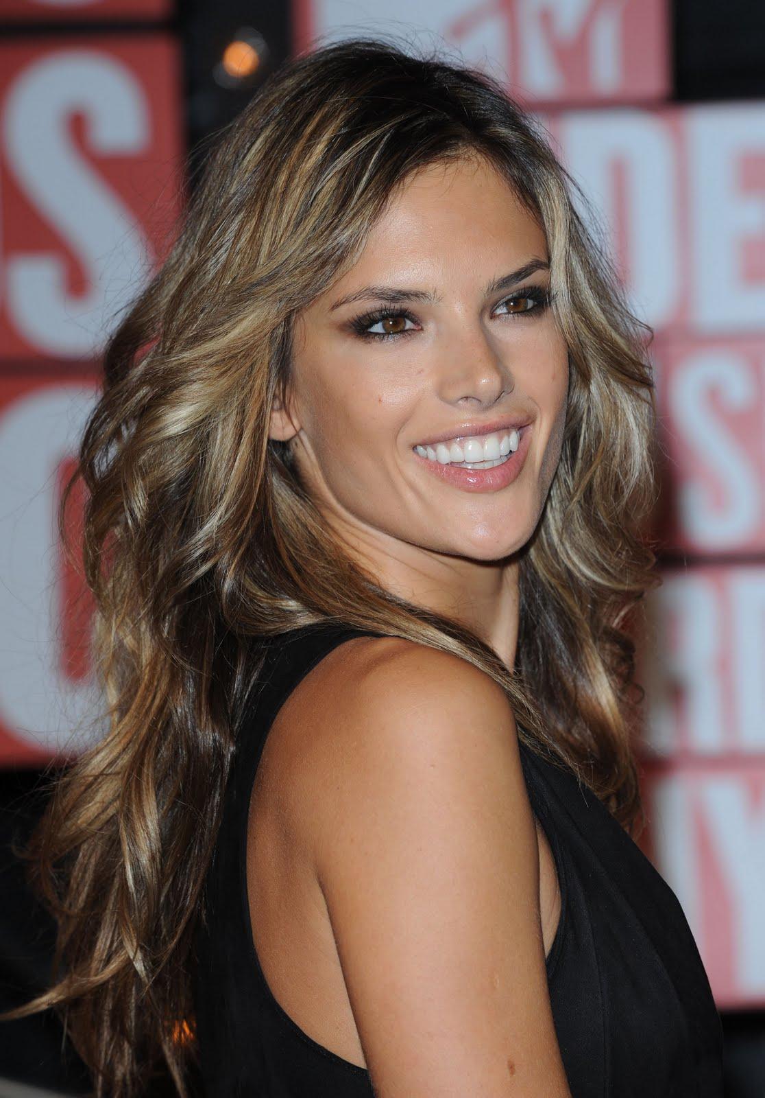 Adriana Lima Alessandra Ambrosio Hairstyles