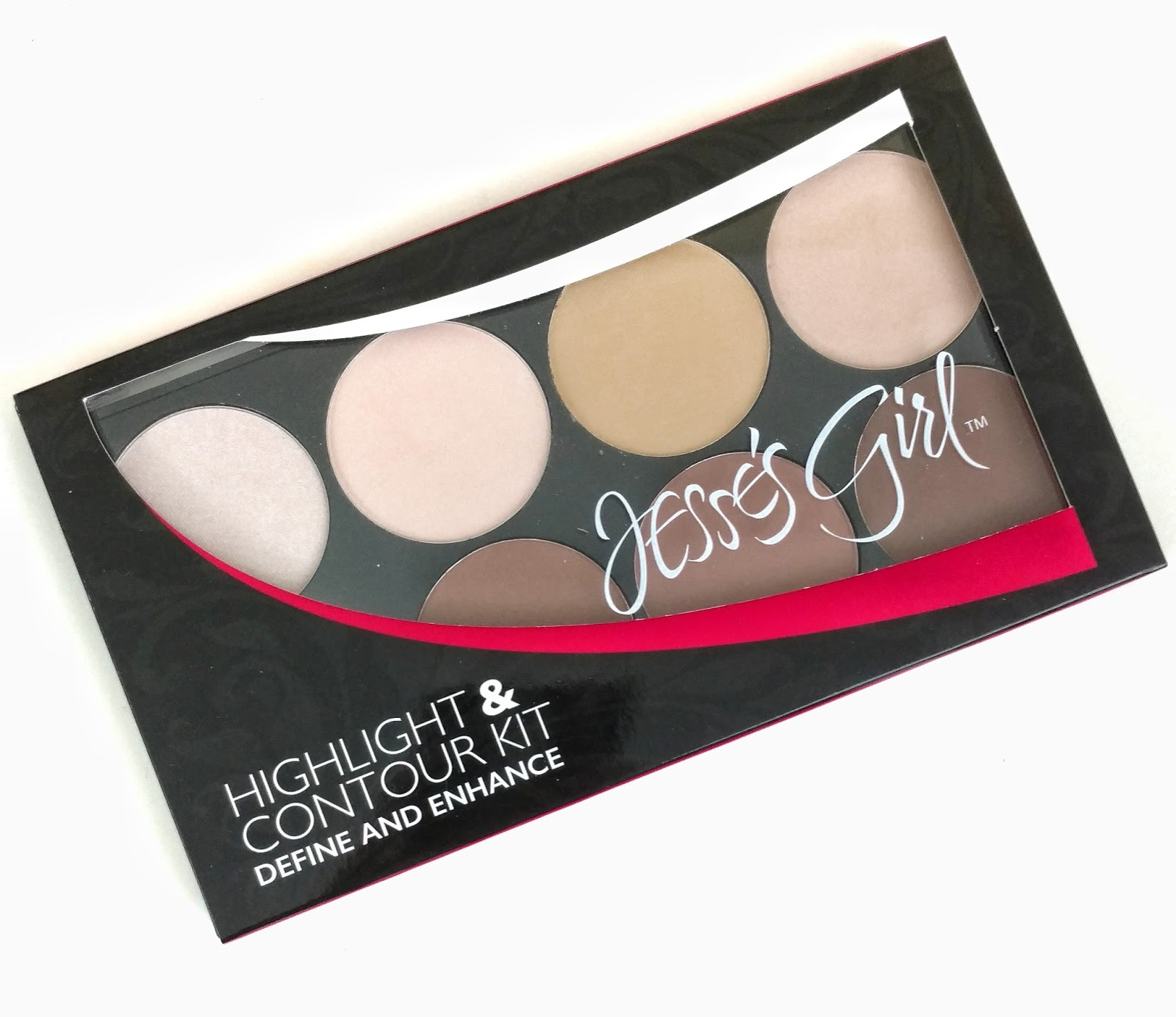 jesse's girl highlight & contour kit review