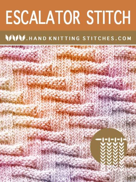 EasyTOKnit - Escalator Knit Purl Pattern