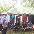 Kembali dari Jakarta, 8 Pemuda Aceh Besar Pilih Isolasi Diri di Hutan