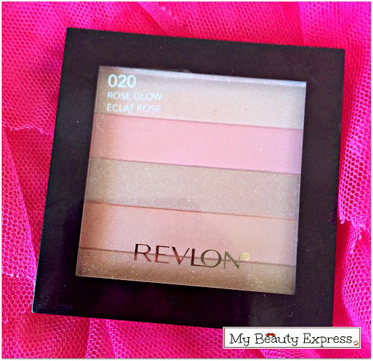 Go Beauty Express: Revlon Highlighting Palette in Rose Glow Review, Swatches and FOTD!