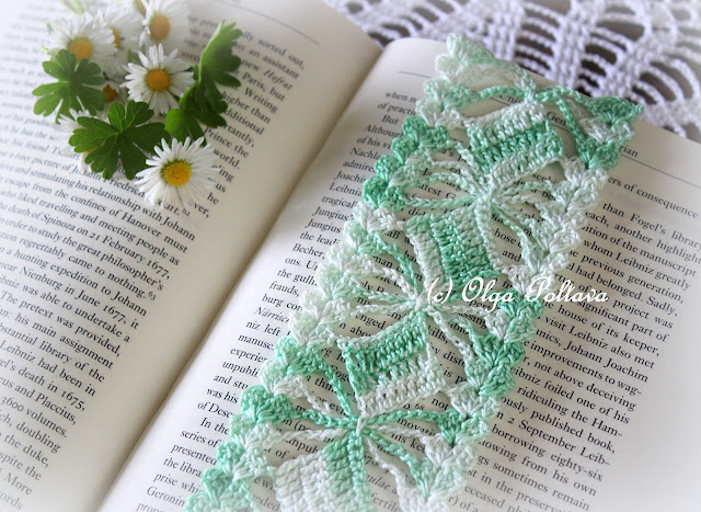 Crochet Patterns Bookmarks : Lacy Crochet: Crochet Lace Bookmark