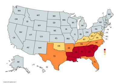 """Mengenal 5 Negara Bagian """"Deep South"""" Di Amerika Serikat"""