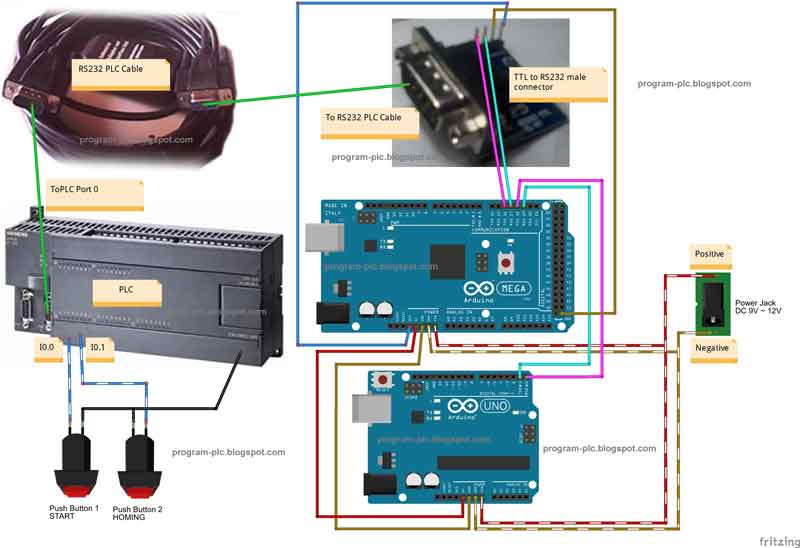 Motion Control / Positioning Control for PLC using Arduino