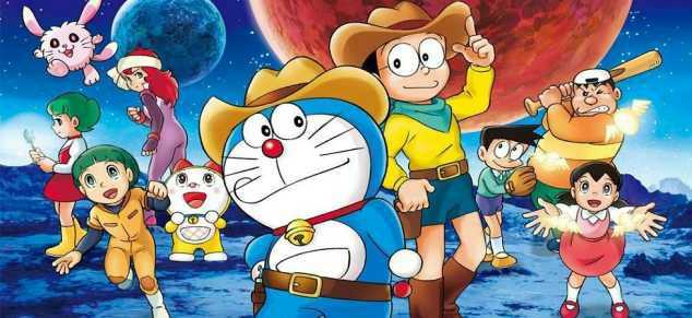 Doraemon Movie 29: Shin Nobita no Uchuu Kaitakushi BD Sub Indo