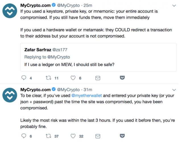 Server dan Wallet Ethereum di MyEtherWallet (MEW) Dibajak dengan serangan DNS Attacker