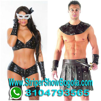 STRIPER EN PAREJA Y SHOWS DE STRIPER