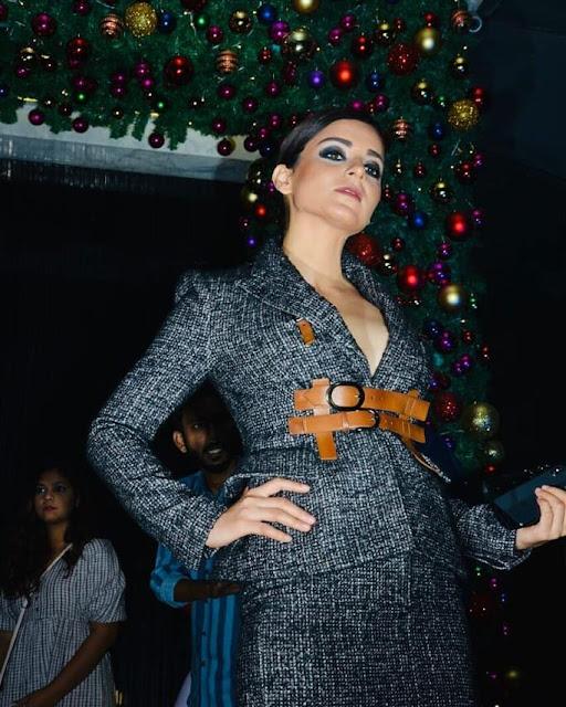 Kangana Ranaut in Manikarnika party, Christmas cheer