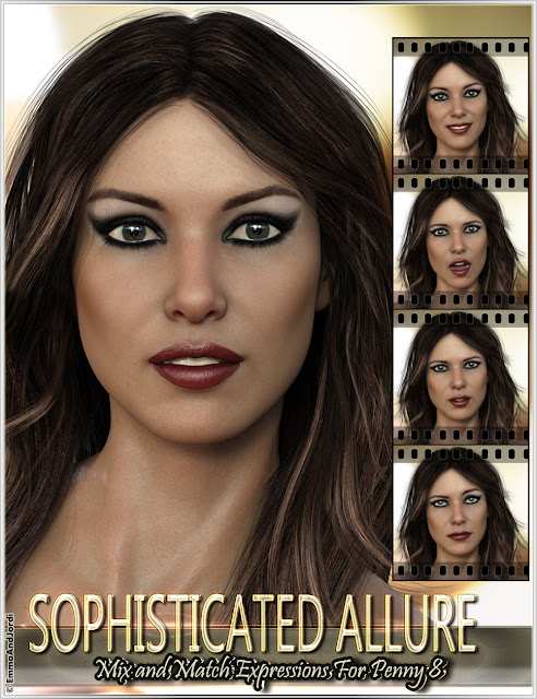 https://www.daz3d.com/sophisticated-allure-mix-and-match-expressions-for-penny-8-and-genesis-8-females