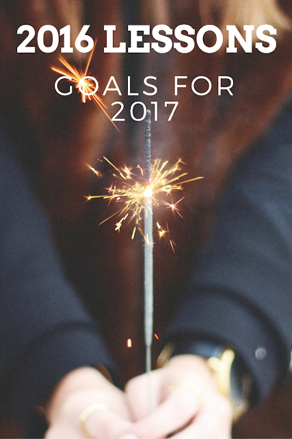 2016 Lessons and Goals for 2017