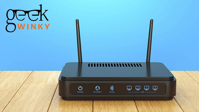 Router Issues   Geek WInky
