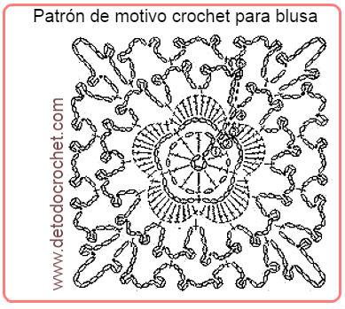 Blusa delicadísima a Crochet para todos los talles / Paso a paso ...