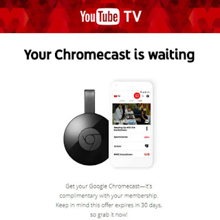 Your Chromecast is waiting