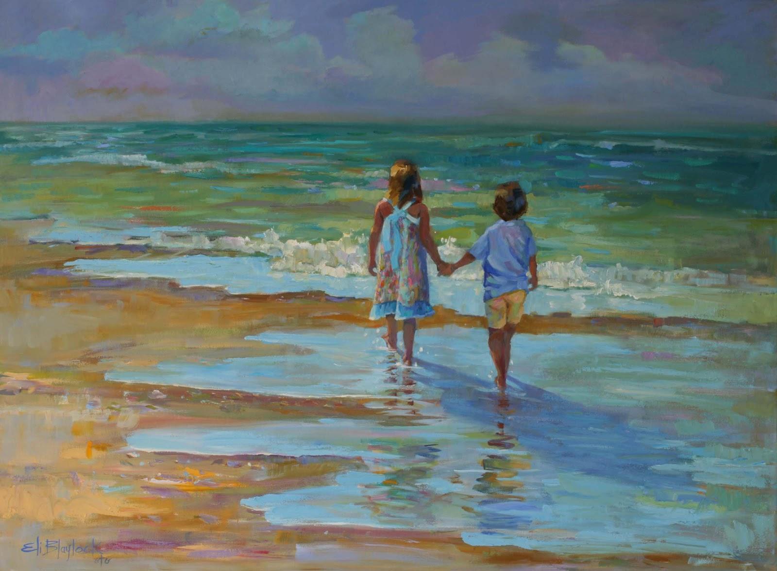 Daily Paintings By Elizabeth Blaylock American