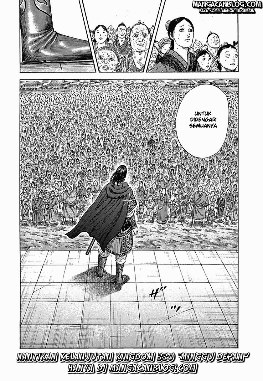 Baca Komik Manga Kingdom Chapter 329 Komik Station