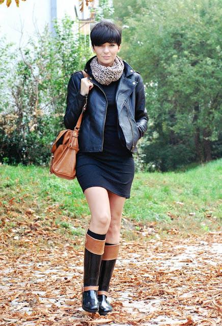 botas para lluvia de moda
