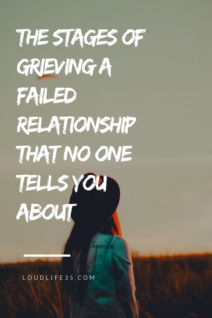 Steps of grieving a relationship