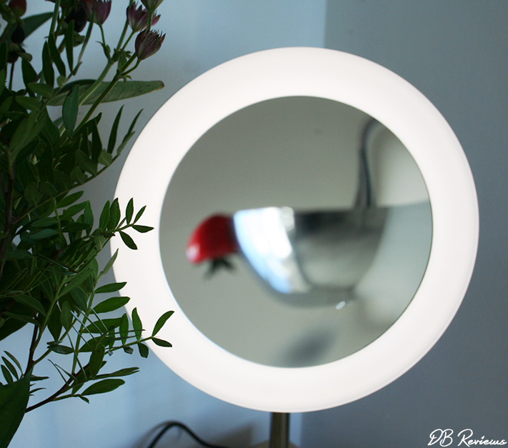 Elko Led Magnifying Vanity Mirror From Pebble Grey Db