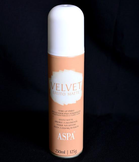 Finalizador de Maquiagem Velvet Efeito Matte - Aspas