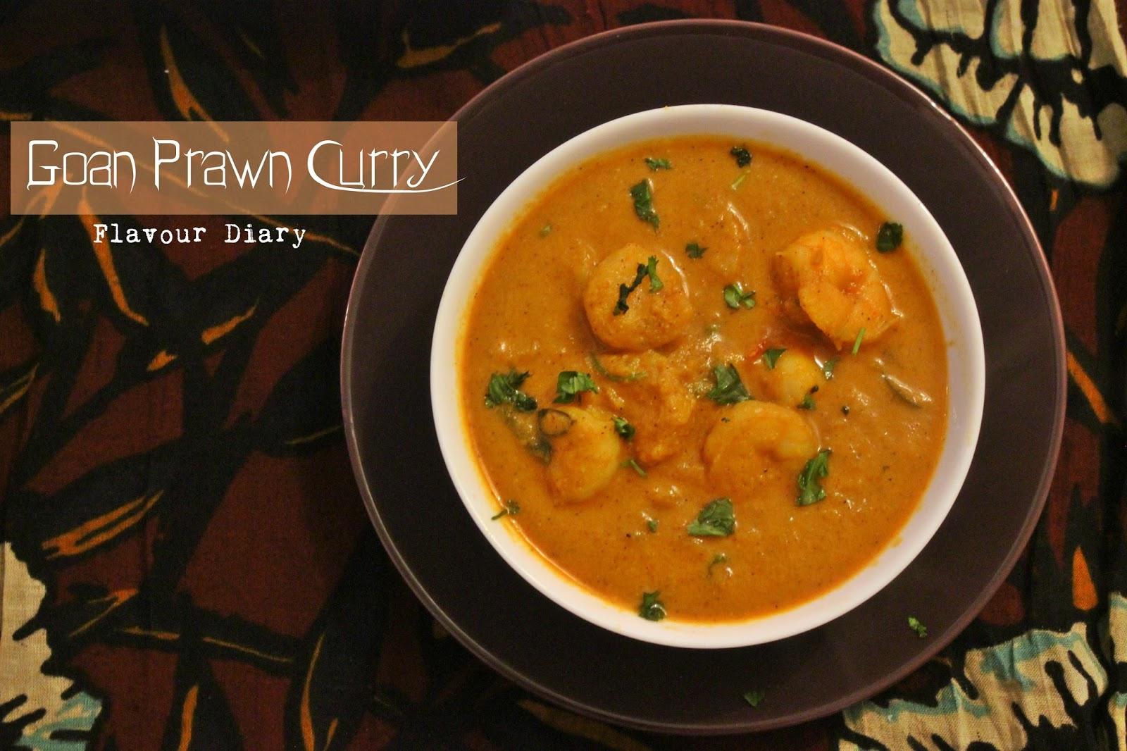 Goan Prawn Curry Recipe Flavour Diary