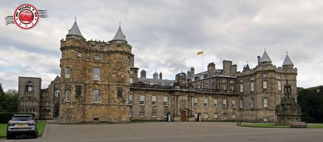 Escocia, Edimburgo, Royal Mile - Palacio Holyrood