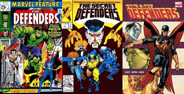 Evolusi The Defenders dalam Komik Marvel
