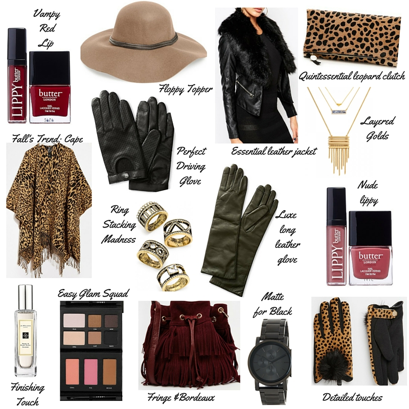 fashion blogger, dallas fashion blogger, christmas gift guide, what to buy friends for christmas, fashionista gift, bauble bar, asos, clare v, fringe bucket bag, lorac palette