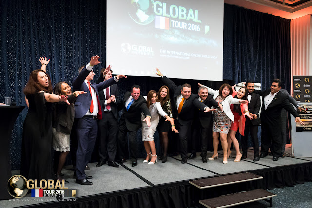 Global InterGold, Paris, France, gold business, Global Tour 2016