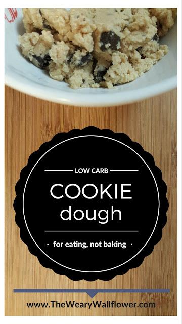 Low Carb, No Guilt Cookie Dough Recipe