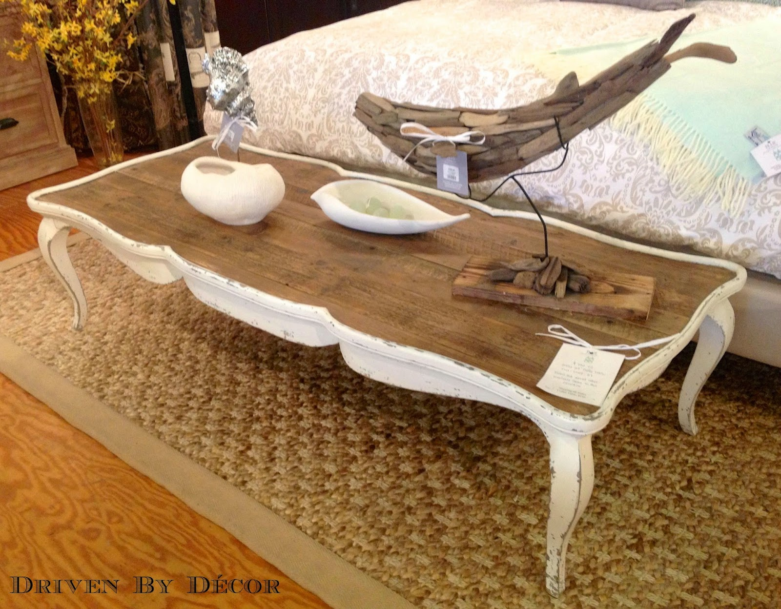 White distressed dining table nice home design finally a to do list i can handle driven by decor geotapseo Images