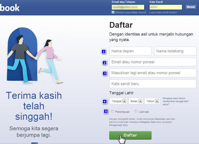 Cara Buat Akun Facebook dengan Nomor HP tanpa Email