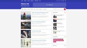 Vienna Lite 2 - Responsive Blogger Template