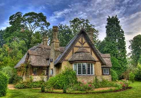 C b i d home decor and design fairy tale living the for Fairy tale home plans
