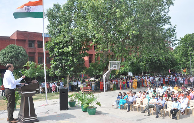 YMCA-University-celebrated-Independence-Day
