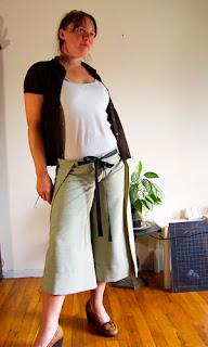 wrap pants sewing tutorial