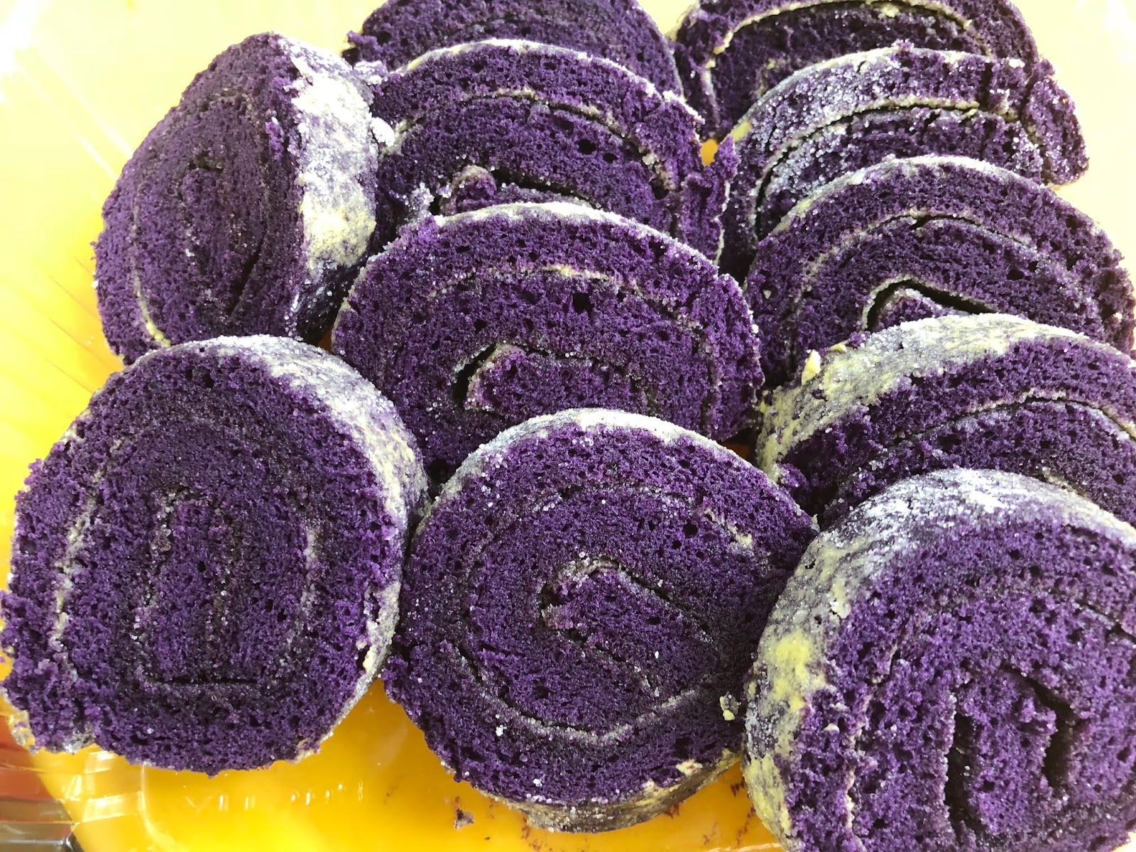 Ube Cake Recipe Using Ube Flavoring
