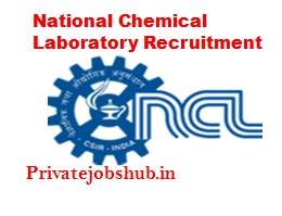 National Chemical Laboratory Recruitment