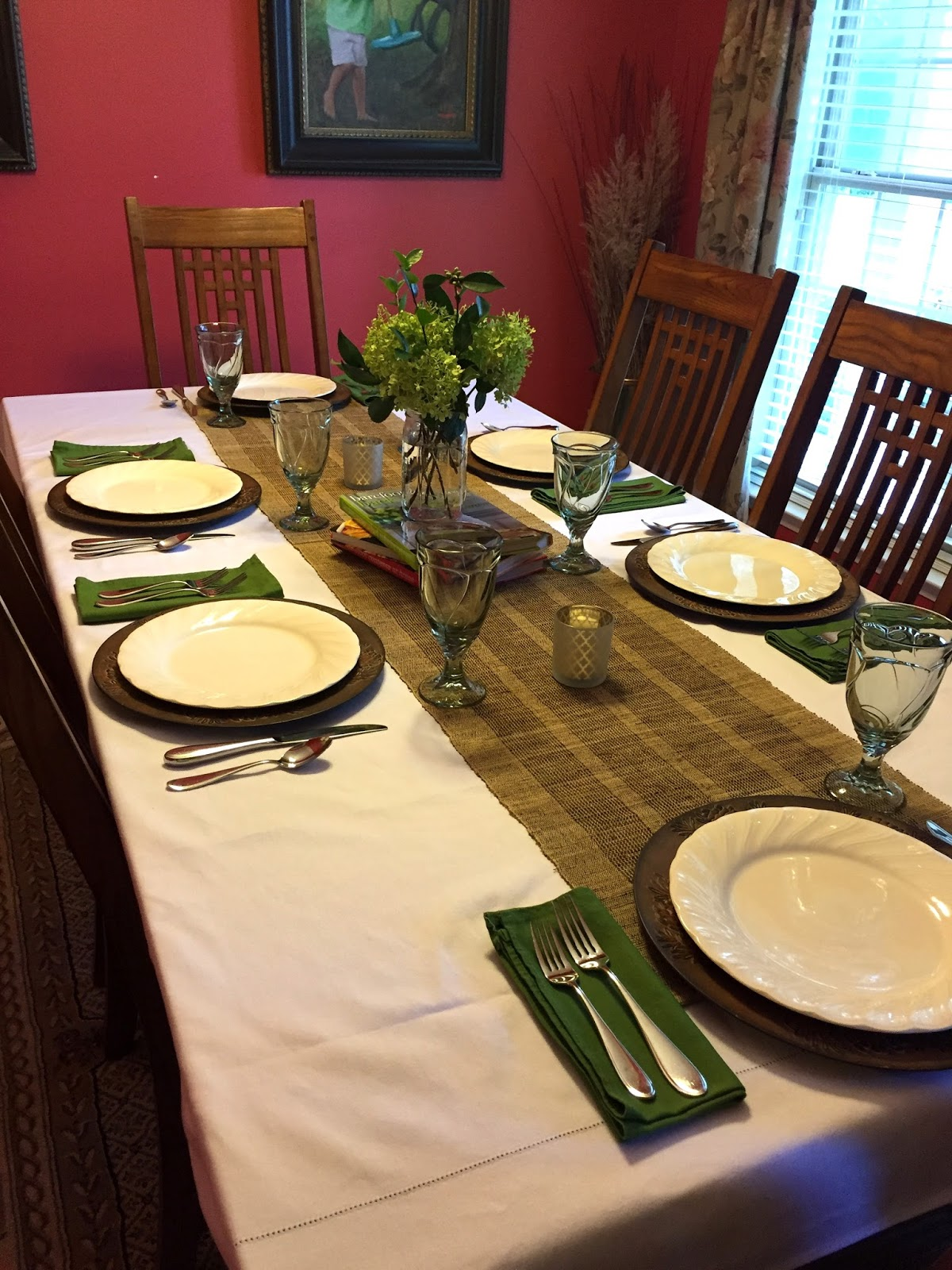 our neck of the woods barefoot contessa inspired tablesetting